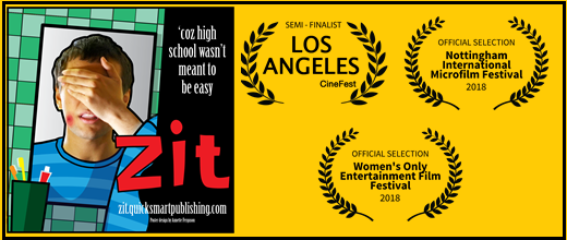 """Zit"" selected for 3 film festivals"